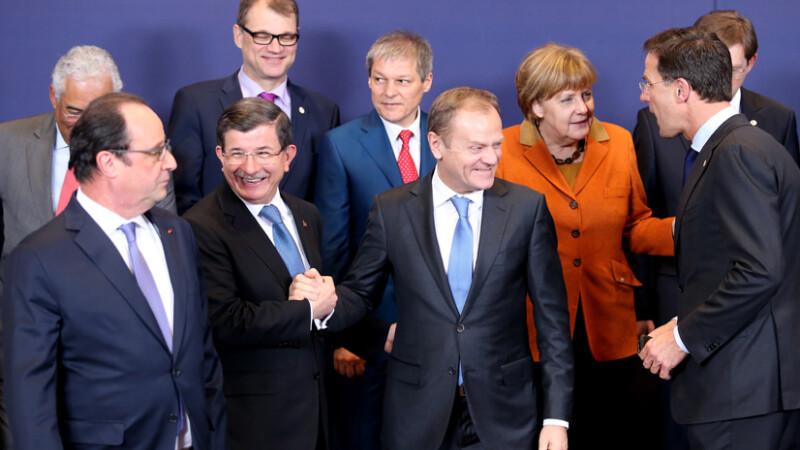 Dacian Ciolos la summitul UE despre migratie