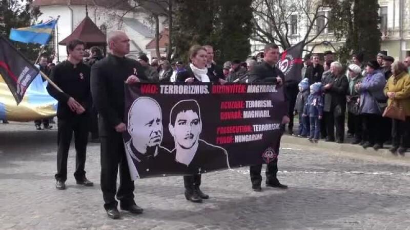 Ziua maghiarilor de pretutindeni, sarbatorita in Transilvania. Momentul inedit inregistrat la Targu Secuiesc