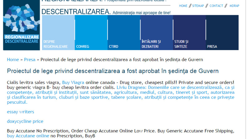 descentralizare cu Viagra