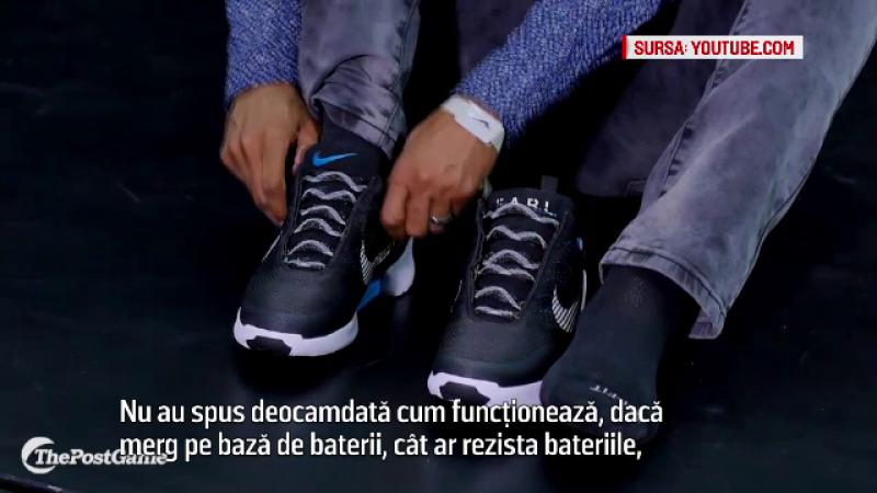 Adidasii cu baterii, care se muleaza automat pe forma piciorului. Prototipul lansat de una dintre cele mai mari companii