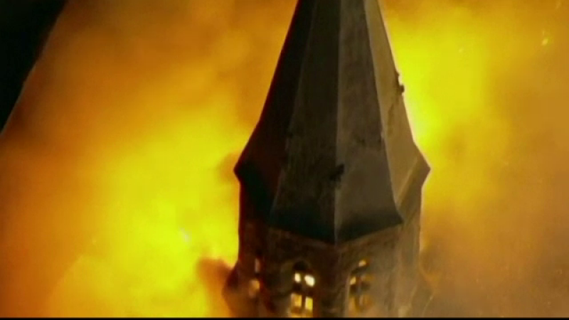 biserica arsa