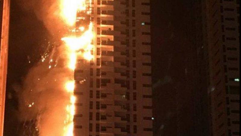 incendiu abu dhabi