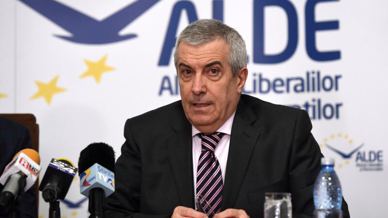 Calin Popescu-Tariceanu, copresedinte ALDE