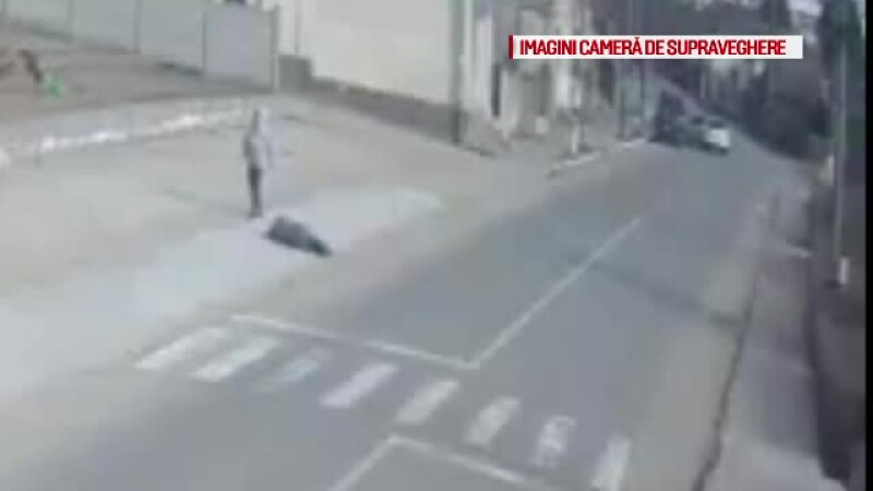 Barbat lesinat pe strada