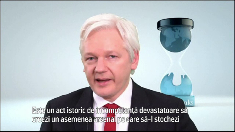Julian Assange - stiri