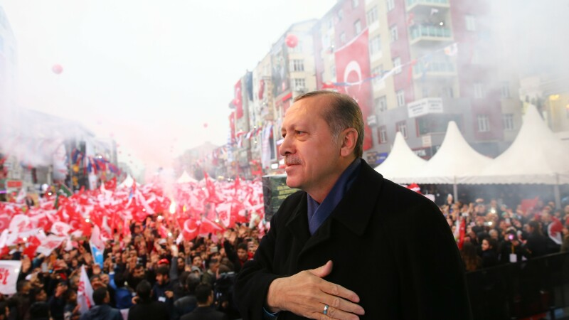 Erdogan miting