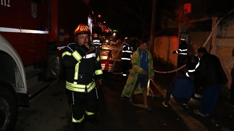 incendiu Bucuresti sector 1