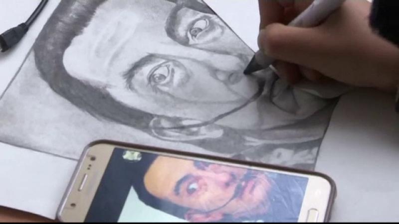portret dali