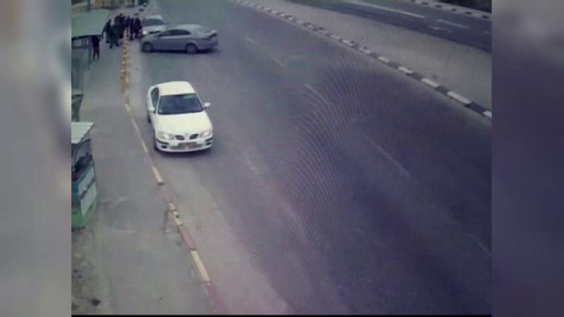 israel atac masina