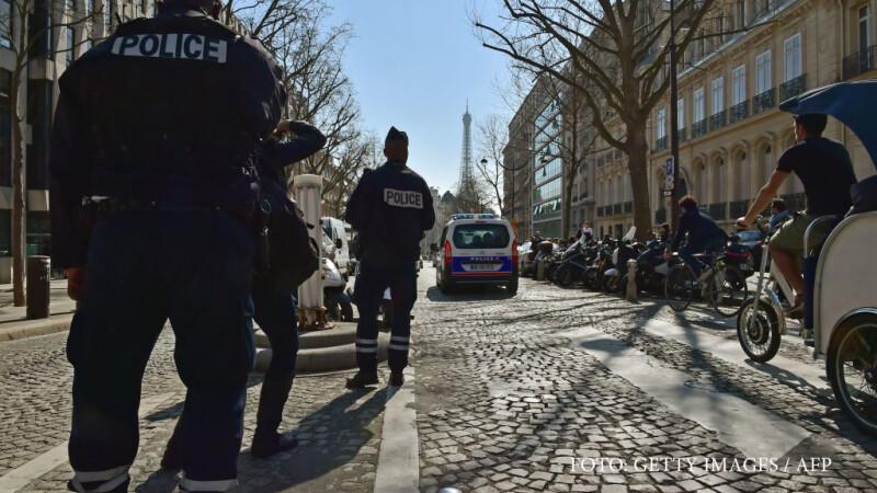 politie la sediul FMI