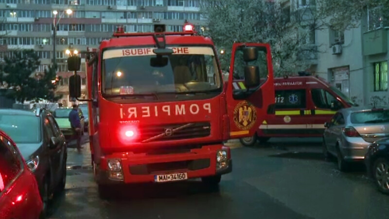 O femeie din Capitala care gatea era sa arunce in aer blocul. Dupa explozie, a refuzat sa mearga la spital