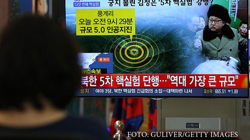 test nuclear nord-coreean