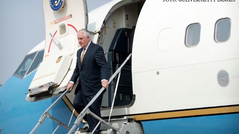Secretarul de stat american a sosit în România