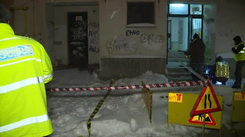 Tânără găsită moartă în Capitală după ce a căzut de la etajul 6.