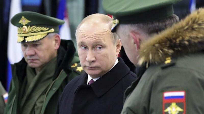 Putin, Soigu si Karakaiev