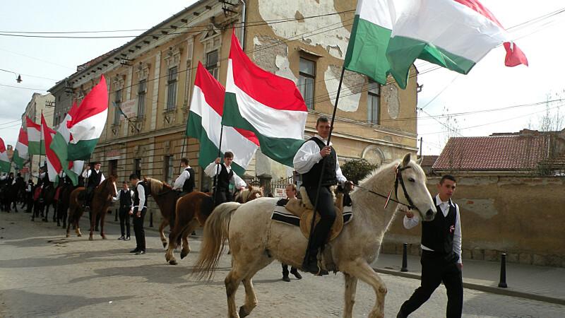 40.000 de persoane aşteptate la marşul pentru autonomia Ţinutului Secuiesc