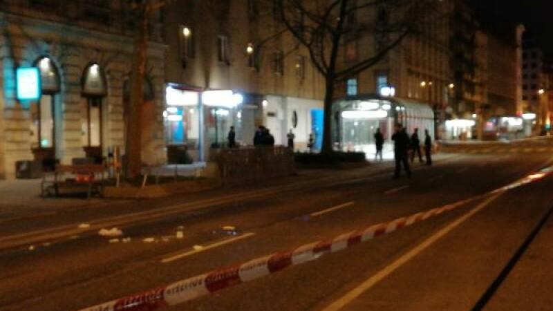 Atac cu cutitul in Viena