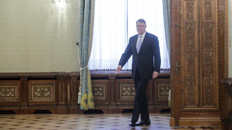Klaus Iohannis a retrimis la Parlament legea pentru modificarea Legii privind CSM