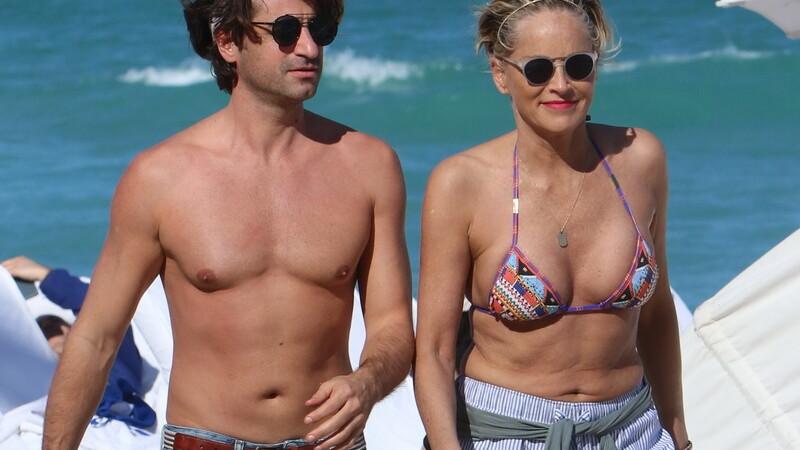 Sharon Stone, 60 de ani, Miami