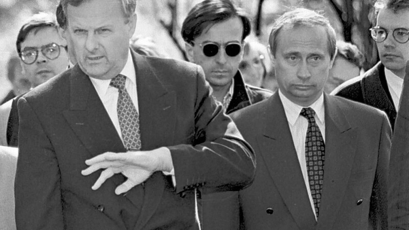 Vladimir Putin si Anatolii Sobciak