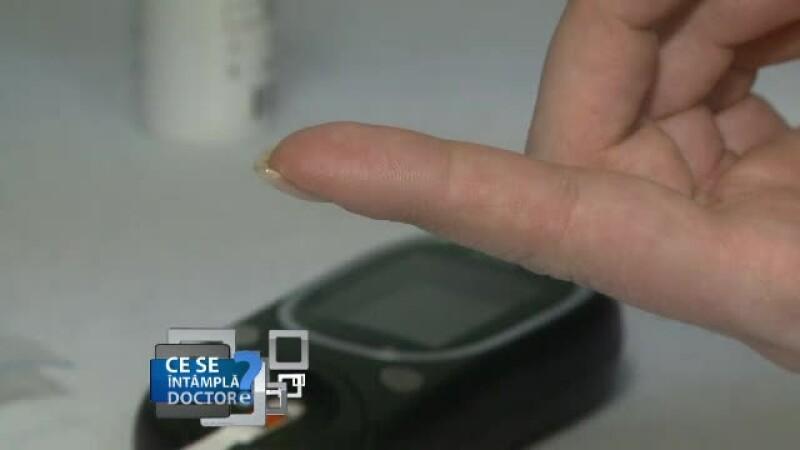 test glicemie