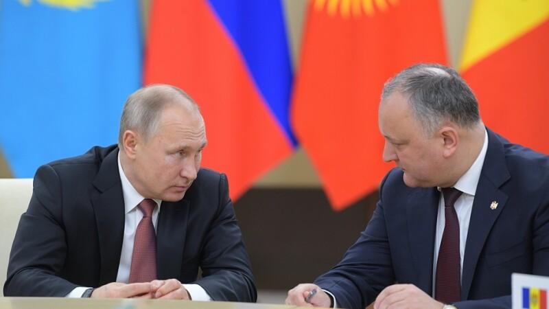 Preşedintele Moldovei crează un