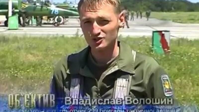 pilot Ucraina