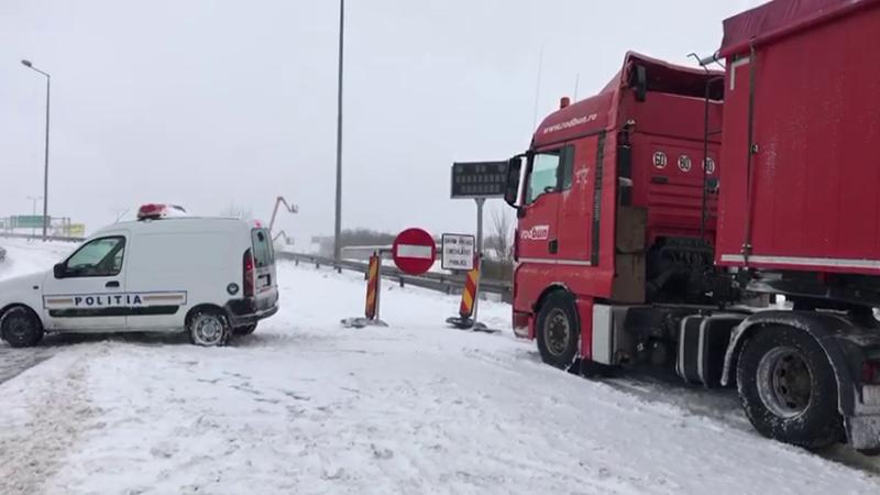 Circulația pe A2, închisă