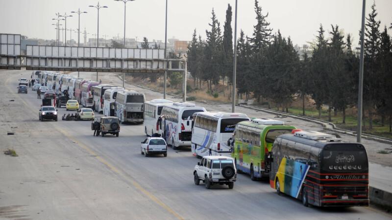evacuare din Ghouta
