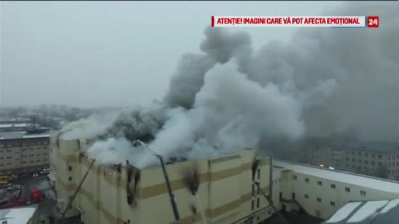 incendiu mall rusia