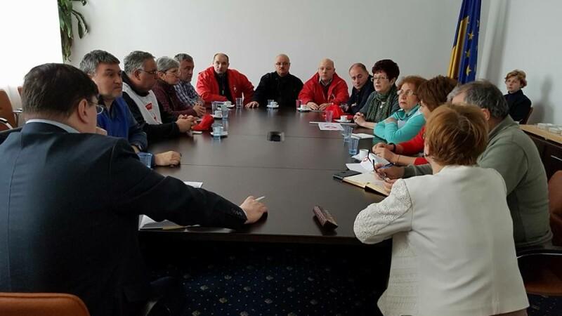 Reprezentanţii Sanitas discută cu conducerea Ministerului Sănătăţii