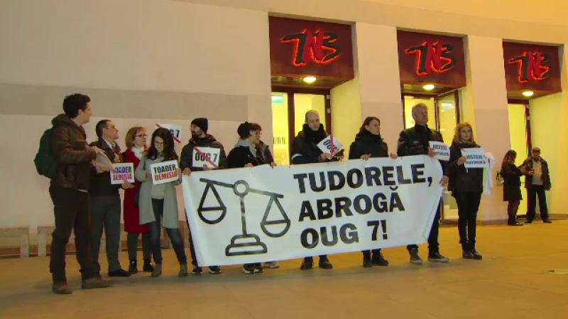 actori, proteste, romania, oug 7,