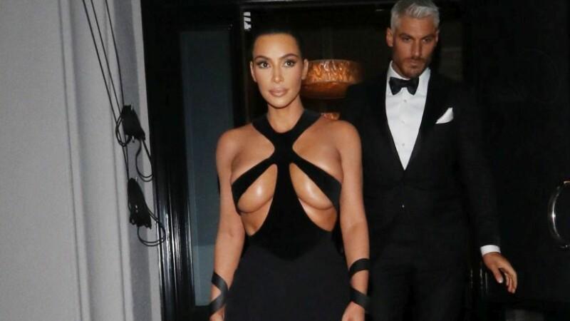 Kim Kardashian, din nou în atenția presei. Cum a apărut în public, la Paris. GALERIE FOTO