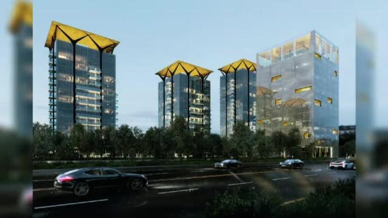 """""""One Floreasca City"""", blocat în instanță. Proiect de 100 milioane €, cu 3 blocuri turn"""