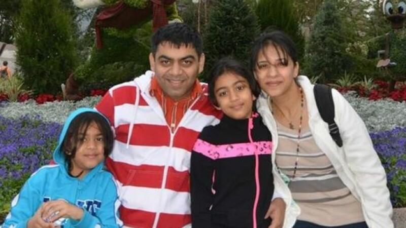 Anushka (l), Prerit Dixit, Ashka and Kosha Vaidya