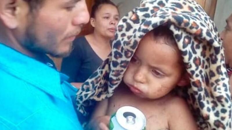 Un copil de doi ani a supraviețuit cinci zile în padure