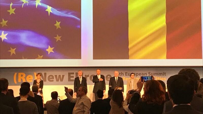 Klaus Iohannis la summit-ul european