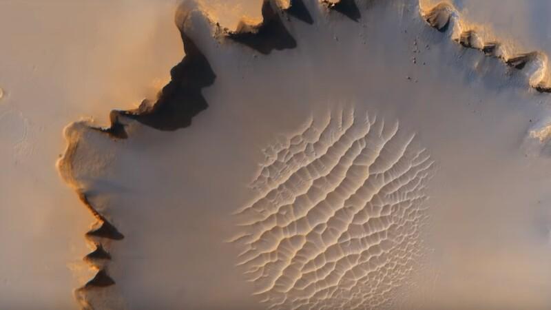 Imagini surprinse pe Marte