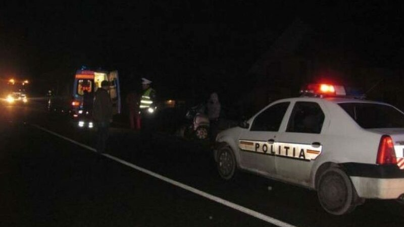 Accident la ieșirea din Focșani