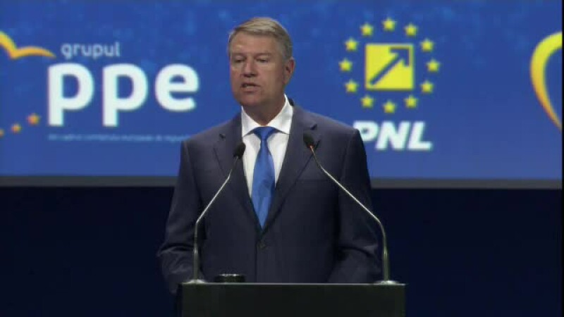 """Iohannis, la Summitul PPE din București: """"PSD a îmbrăcat haina falsului patriotism"""""""