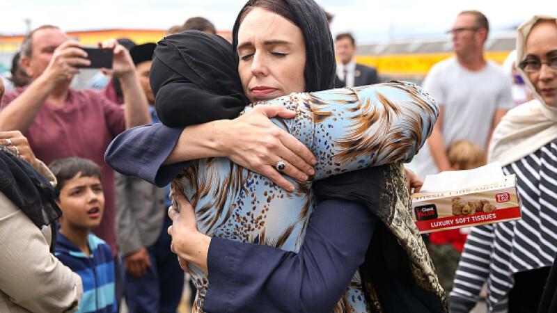 Gestul emoționant făcut de premierul Noii Zeelande, după atacul de la Christchurch