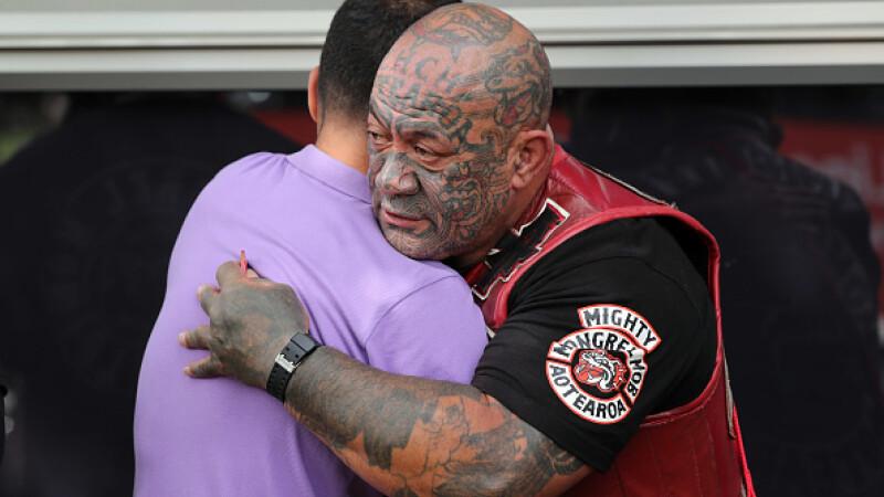 Membrii celei mai cunoscute bande din Noua Zeelandă, cu lacrimi în ochi după atacul terorist