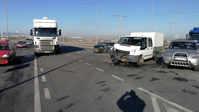 Accident grav în Sibiu. Victima a fost târâtă câţiva metri de un TIR, detaliile sunt şocante