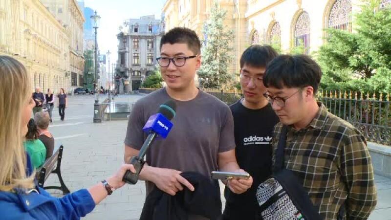 Reacția unui turist din Coreea de Sud după ce vede clipul de promovare a României