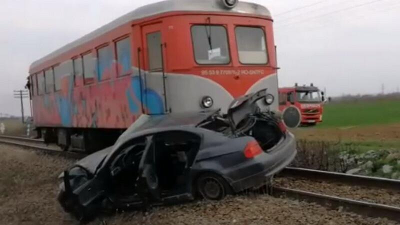 Accident feroviar la Găneasa, Olt