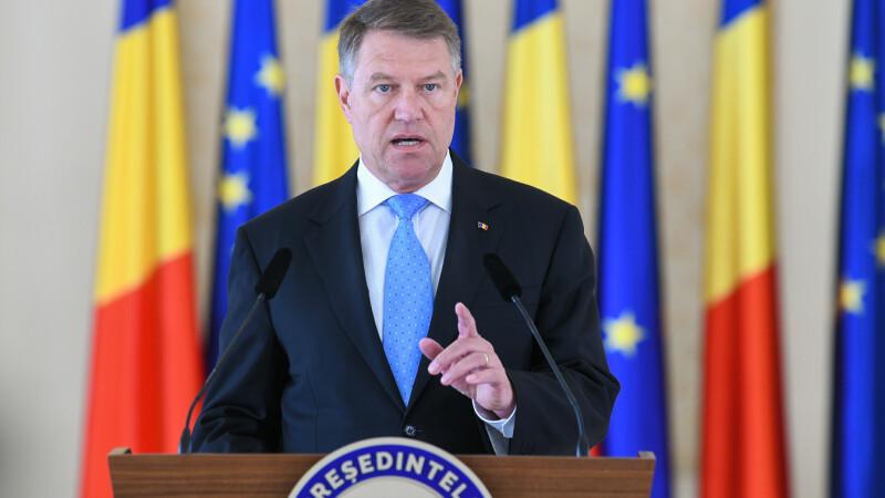 """Iohannis, despre PSD: """"Modifică legile justiţiei pentru a-şi apăra propriii corupţi"""""""