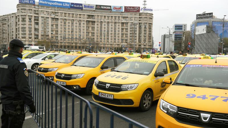 """Guvernul promite că adoptă OUG pentru modificarea legii taximetriei """"în următoarea ședință"""""""