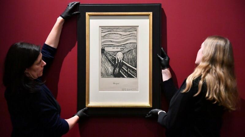 """Muzeul Britanic explică ce reprezintă, de fapt, pictura """"The Scream"""""""