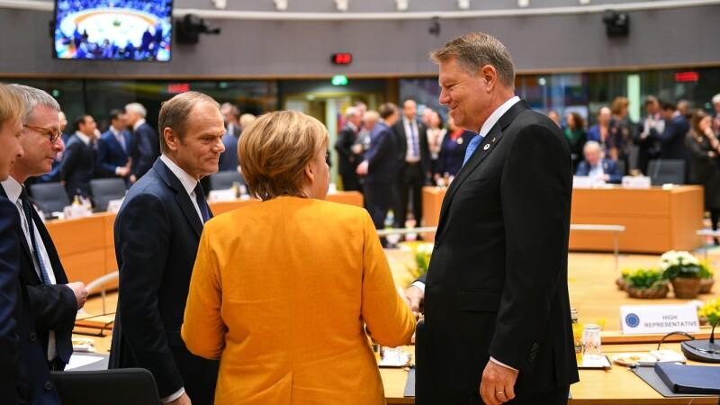 Iohannis: Avem o şansă reală să obţinem o ieşire ordonată a Marii Britanii. Drepturile românilor, asigurate