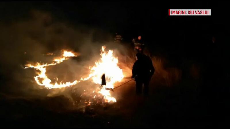 Continuă tragediile provocate de incendierea voită a terenurilor agricole. Un bărbat şi-a pierdut viaţa